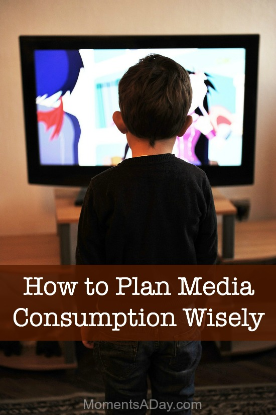 Tips for planning media consumption wisely