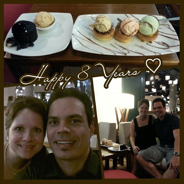 Anniversary dessert date ♡ #anniversary #dessert #datenight
