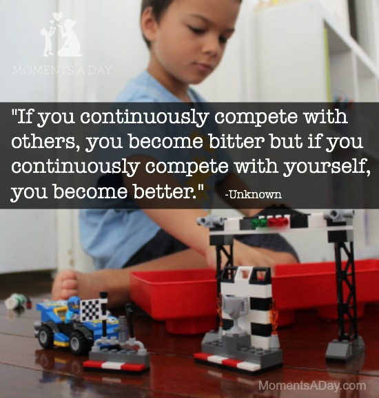 Helping kids see beyond competition and begin to enjoy doing their best