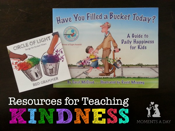 Recommended resources for teaching kids about kindness