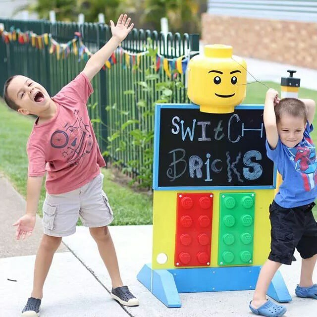 So much fun today with lego, Switch Bricks in Ipswich was great fun #lego #schoolholidays #familytime #makingmemories #brisbane