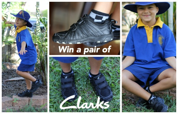 Win a pair of Clarks School Shoes!