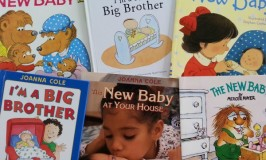 Books for siblings to prepare for a new baby