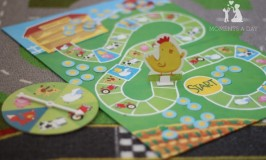 Cooperative board game for kids from Peaceable Kingdom called Count Your Chickens
