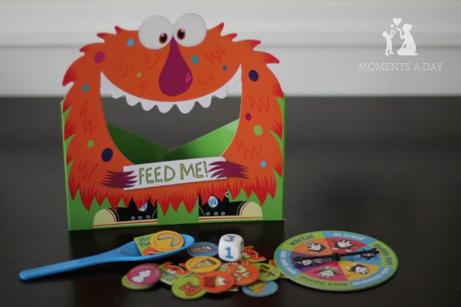Cooperative board game for kids from Peaceable Kingdom called Feed the Woozle