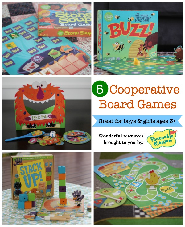 Five awesome board games that promote cooperation not competition