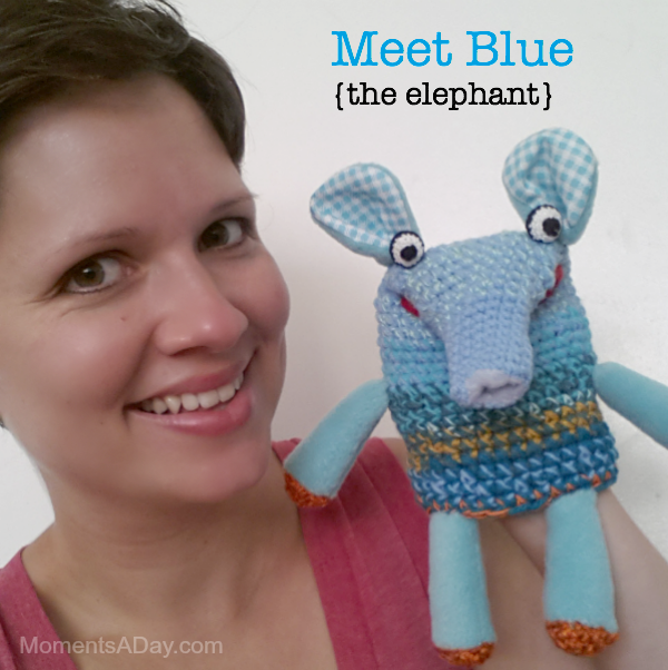 Rosie and Blue character education puppet show for kids