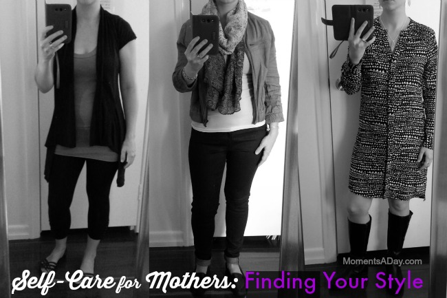Encouragement for mothers to increase their confidence and find their style