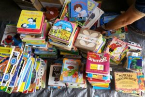 Book Drive for a School Overseas