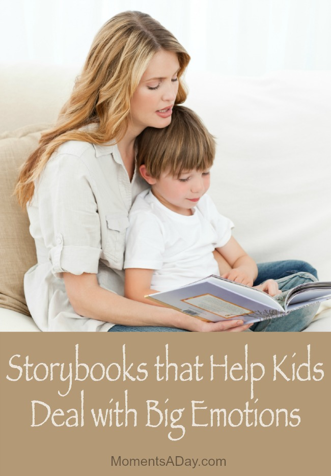 Recommended storybooks to help kids deal with big emotions namely sadness anxiety anger