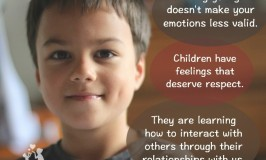 Respecting children and their feelings