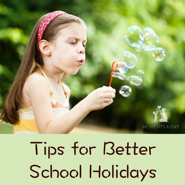 Easy ways to make the school holidays fun and relaxing for kids and adults alike