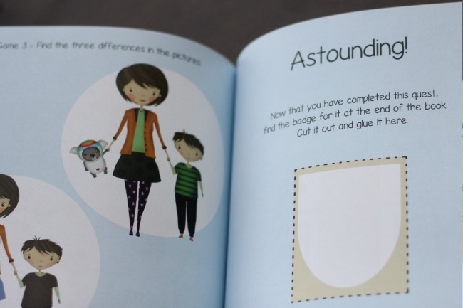 Fun story and activity book to help anxious kids prepare for school