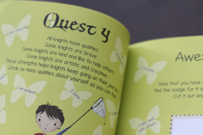 Interactive story and activity book to help anxious kids prepare for school