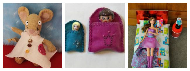 Accessories for toys you can sew for kids