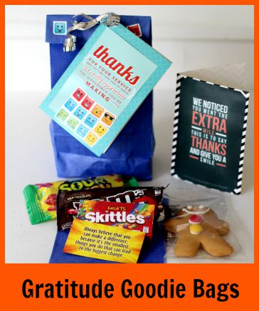 Click to read about the Gratitude Goodie Bags