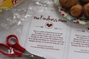 The Kindness Plate {Free Printable}