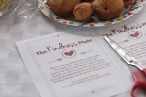 The Kindness Plate {Free Printable}