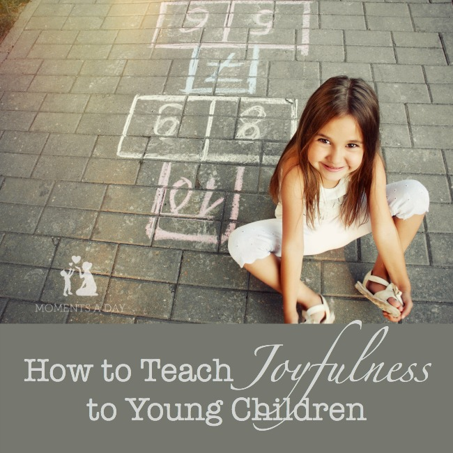 Ideas + resources + suggestions for teaching kids about being joyful even in the midst of hardship