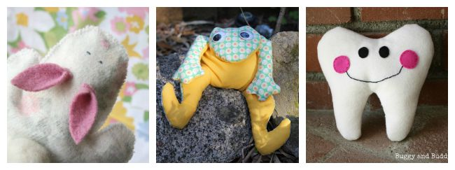 Little friends you can sew as gifts for kids
