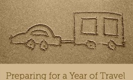 Preparing for a year of travel specifically deciding on a campervan caravan or a tent