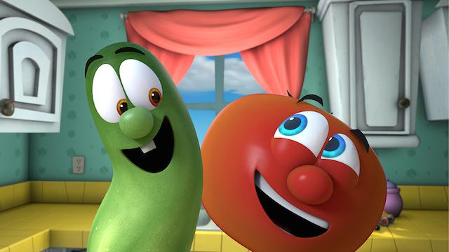 Veggietales show for kids to learn positive behaviour