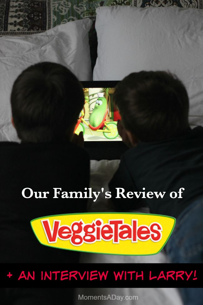 Why we like VeggieTales plus our interview with Larry on the topic of friendliness