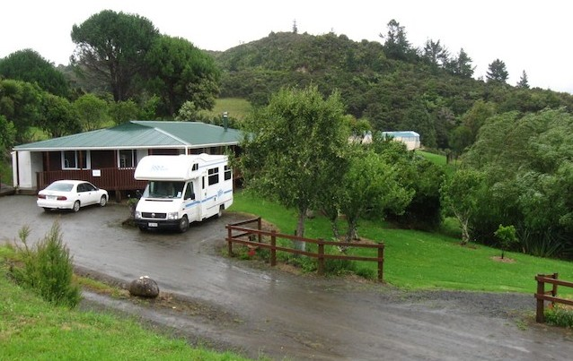 Campervan in NZ in 2012