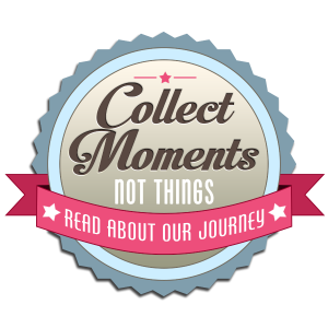 collect moments not things button
