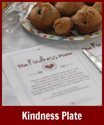 Click to read about the Kindness Plate