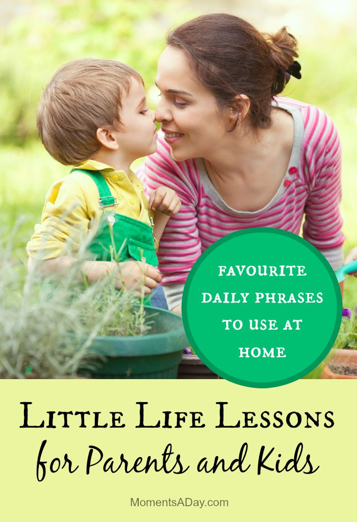 Easy phrases you can get into the habit of saying to promote the a gentle parenting style at home
