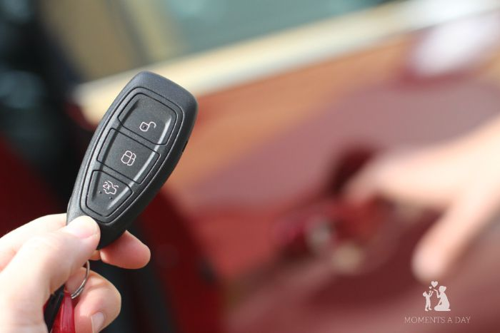 Keyless entry makes life easier