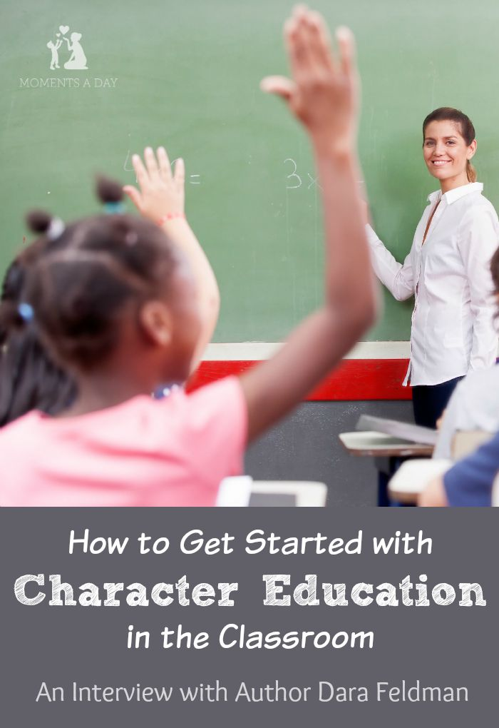 Author Dara Feldman shares her passion for character education which can be applied by teachers and parents
