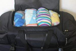 Simple Living: Travel Gear + 10 Creative Ways to Use Luggage to Save Space