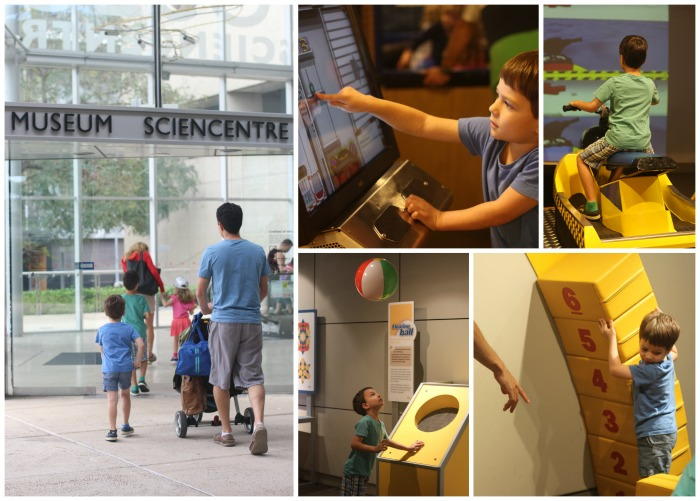 Queensland Museum Sciencentre is a must see for kids