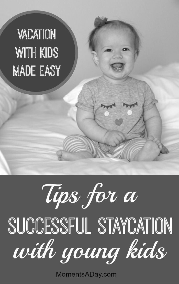 Taking a weekend vacation doesn't have to be daunting - here are tips for planning an awesome and relaxing staycation for your family