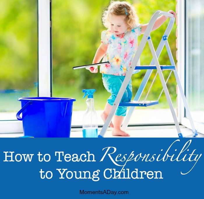 Tips, tools and resources for teaching young kids about responsibility