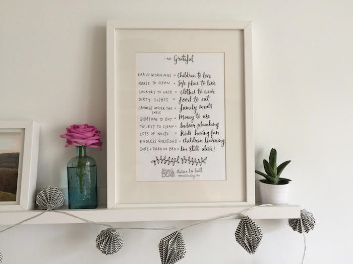 Grateful Mama Project print to pay it forward to mothers in need