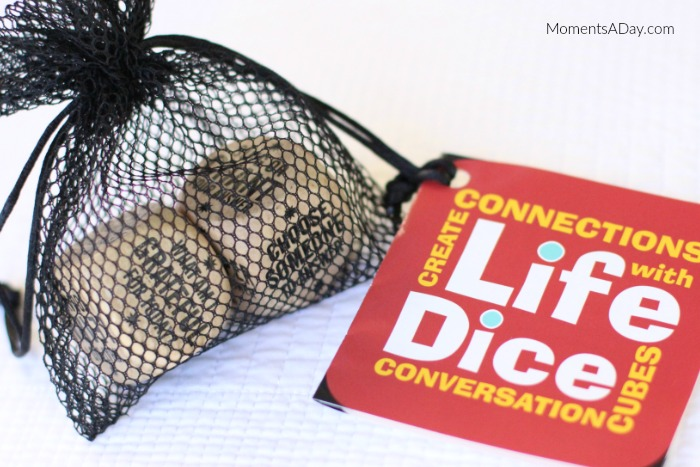 Life Dice are a lovely gift idea for families