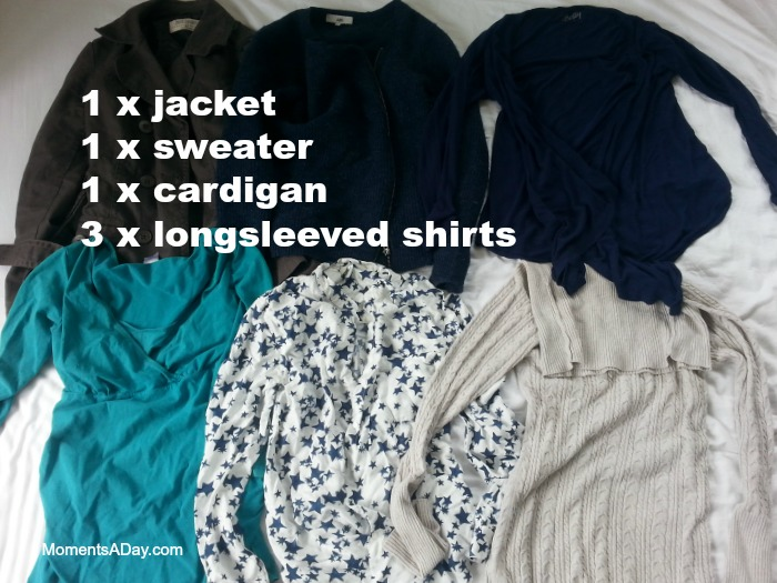 Winter shirts and jackets for a capsule wardrobe