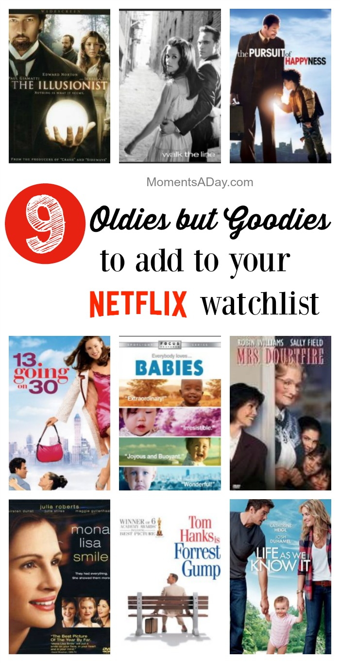 You may have watched these when they first came out but it's time to enjoy them again! Great feel good movies for mamas