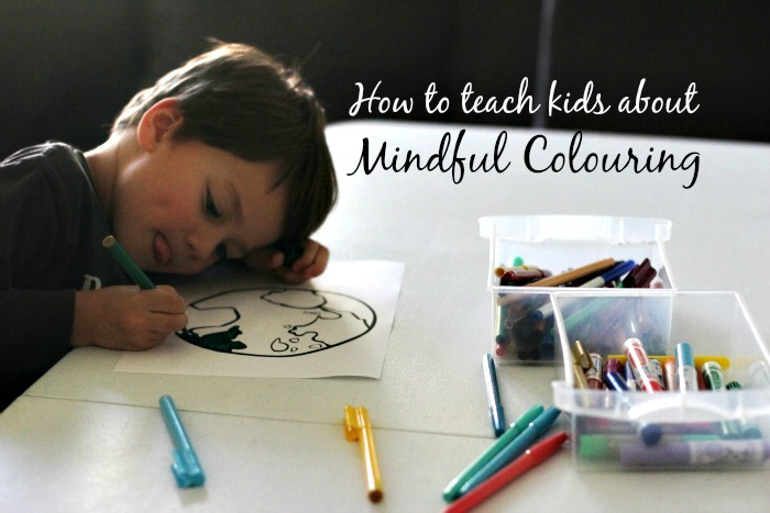 How To Explain Mindful Colouring Kids