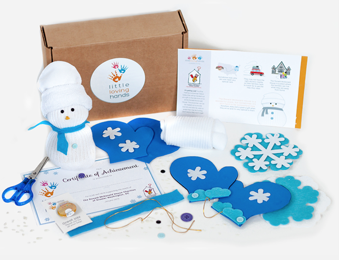 A perfect gift for kids that keeps on giving is Little Loving Hands craft kits