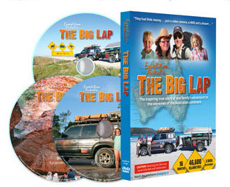 Big Lap DVDs show what it is like to travel around Australia as a family