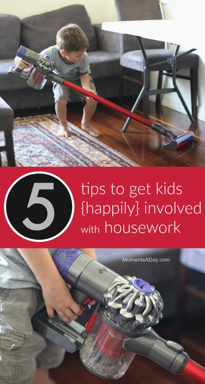 Kids will enjoy housework a lot more with a few simple tweaks to how it's done