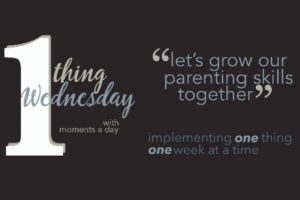 One Thing Wednesday in 2016