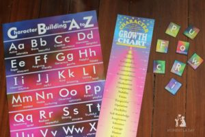 Review: Materials with a List of Virtues for Home or Classroom