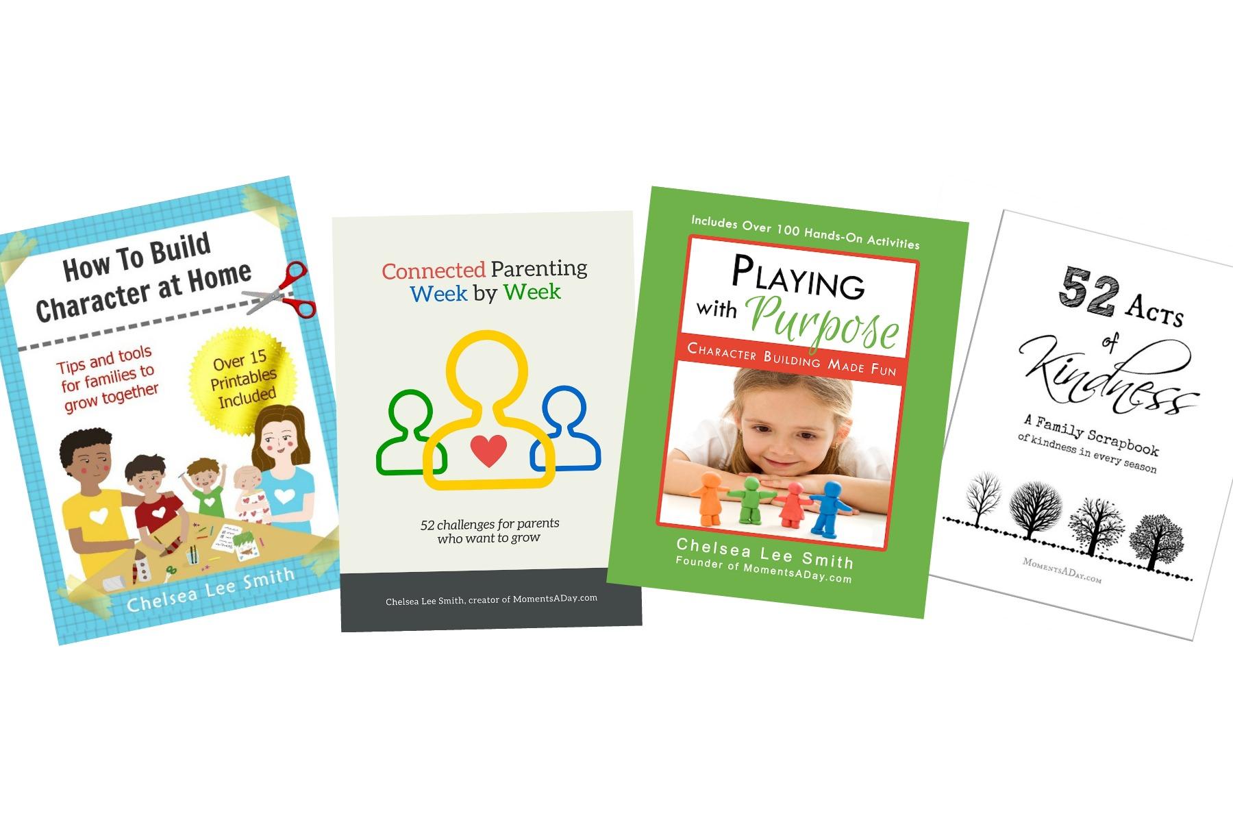 Character Building Positive Parenting Ebook Bundle