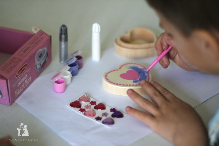 Craft activity for kids to learn about their inner gems