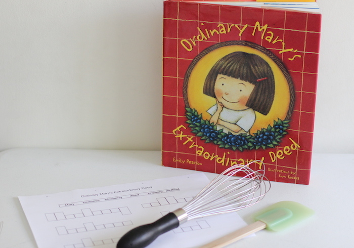 Ordinary Mary's Extraordinary Deed is a book about kindness spreading around the world all because of one little girl's actions, here is a printable plus activity to go along with it